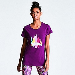 Dare 2B - Purple 'Avian' print t-shirt