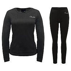 Dare 2B - Black insulate top and legging base layer set