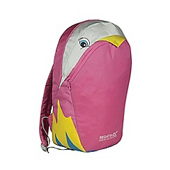 Regatta - Parrot (pink) kids zephyr animal backpack