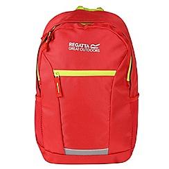 Regatta - Red 'jaxon' 10 litre kids back pack
