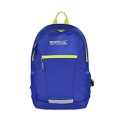 Regatta - Blue 'jaxon' 10 litre kids back pack