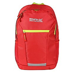 Regatta - Red 'jaxon' 10 litre kids back pack