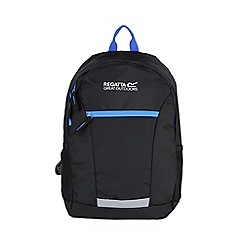 Regatta - Black 'jaxon' 10 litre kids back pack
