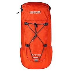 Regatta - Orange 'black fell Nano' kids back pack