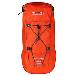 Regatta - Orange 'black fell Nano' kids back pack