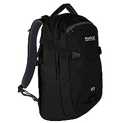 Regatta - Black 'Paladen' 20 litre laptop backpack