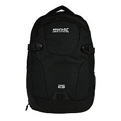 Regatta - Black paladen 25 litre laptop bag