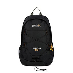 Regatta - Black survivor 20 litre back pack