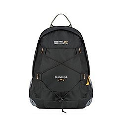 Regatta - Black survivor 25 litre back pack
