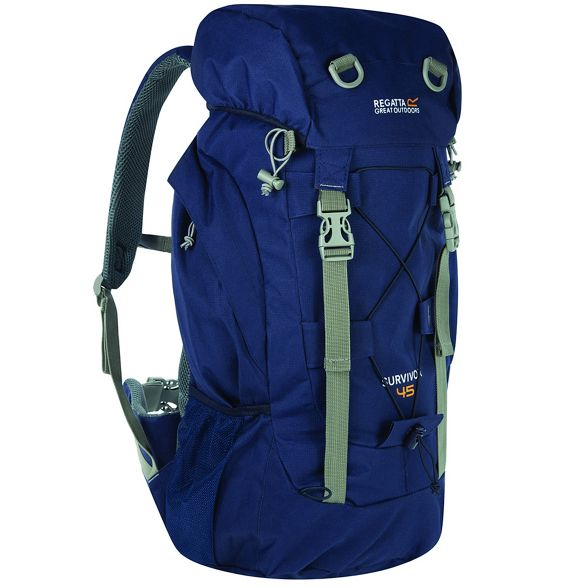 back survivor Regatta Navy 45 pack litre IwH4TO
