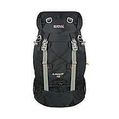 Regatta - Black survivor 45 litre back pack