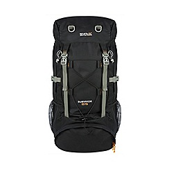 Regatta - Black survivor 85 litre expedition back pack