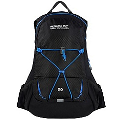 Regatta - Black blackfell 20 litre back pack