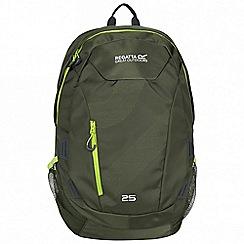 Regatta - Green 'Alto rock' 25 litre back pack