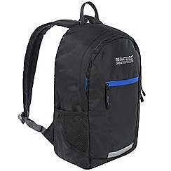 Regatta - Kids Black 'Jaxon' 10l day pack