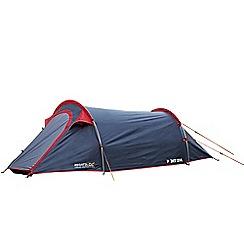 Regatta - Grey and red Halin 2 man tent