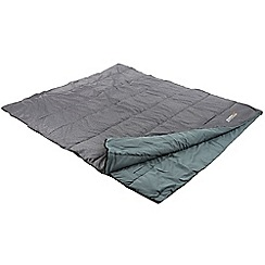 Regatta - Grey 'Maui' double sleeping bag