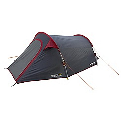 Regatta - Grey and red Halin 3 man tent