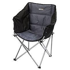 Regatta - Black Navas folding chair