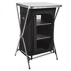 Regatta - Black and grey Varela three shelf storage unit