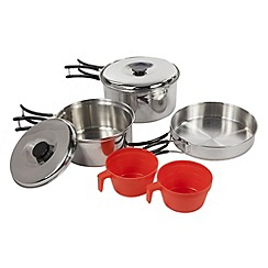 Regatta - Silver Compact steel cook set