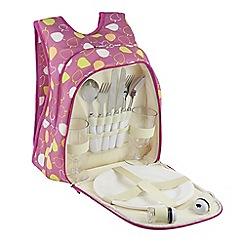 Regatta - Pink Freska 2 person picnic bag