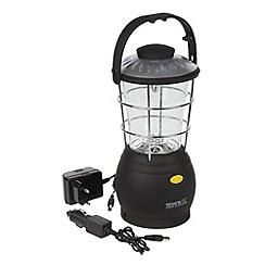 Regatta - Black Helia 12 lead rechargable lantern eu