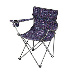 Regatta - Paisley pink Isla folding chair