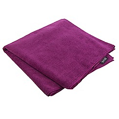 Regatta - Pink 'Travel' large compact towel