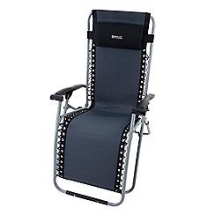 Regatta - Black 'Colico' camping chair
