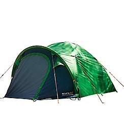 Regatta - Green 'Kivu' 3 man family tent
