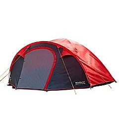 Regatta - Red 'Kivu' 4 man family tent