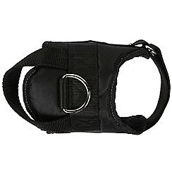 Regatta - Black 'Reflective' dog harness