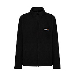 Regatta - Boys Black King full zip fleece