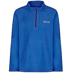 Regatta - Blue 'hot shot' kids fleece