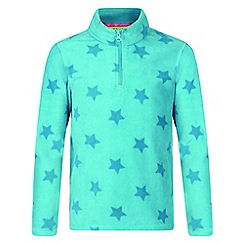 Regatta - Kids Blue 'lovely jubblie' printed fleece