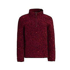 Regatta - Red 'Lovely Jubblie' printed fleece