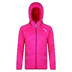 Regatta - Kids Pink 'Dissolver' fleece
