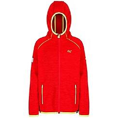 Regatta - Red 'Dissolver' kids fleece