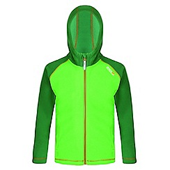 Regatta - Green 'Upflow' fleece hoody