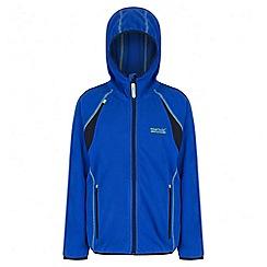 Regatta - Boys' blue Chromium fleece jacket