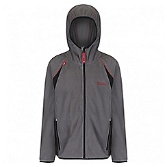 Regatta - Boys' grey Chromium fleece jacket