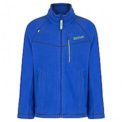 Regatta - Boys' blue Marlin fleece jacket