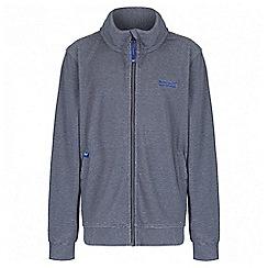 Regatta - Boys' navy Harlin fleece jacket