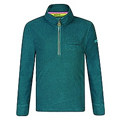 Regatta - Kids Green 'Oaklands' fleece