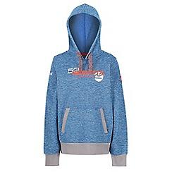 Regatta - Blue 'Farrel' kids fleece sweater