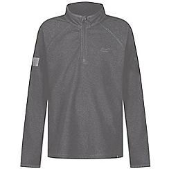 Regatta - Girls' grey 'Loco' fleece sweater