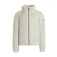 Regatta - White 'Kezia' girls fleece sweater