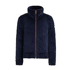 Regatta - Blue 'Kezia' girls fleece sweater