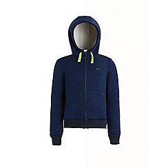 Regatta - Blue 'Adeon' kids bomber fleece jacket